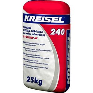 Клей для плит из миниральной ваты и устройства слоя для сетки Kreisel 240