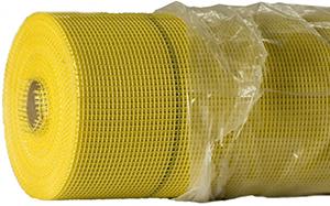Сетка для утепления зданий 145 г/м2 желтая (50 м2)